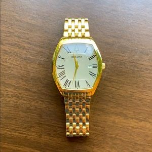 Bulova Ambassador Men's Gold Watch
